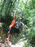 Hiking near Cabarete